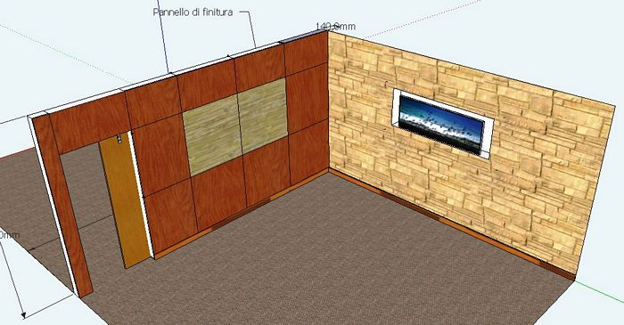 Parete divisoria in legno per interni oj37 regardsdefemmes - Pareti divisorie in legno per interni ...