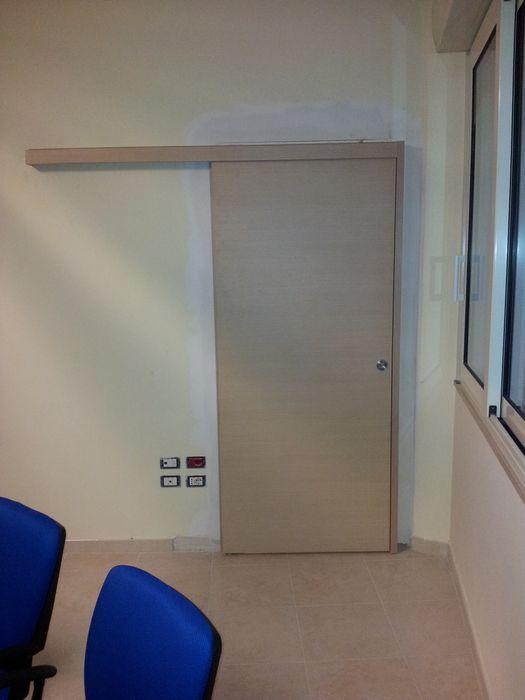 Uffici porte extra officine - Porta scorrevole esterno muro prezzo ...